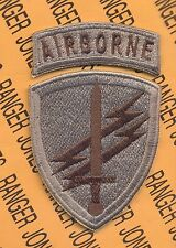 US Army Civil Affairs & Psychological Ops Cmd Airborne Multi Cam patch