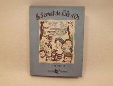 Livre ancien Le Secret de l'île d'Or par Leone Mahler Collection Primevère 1948