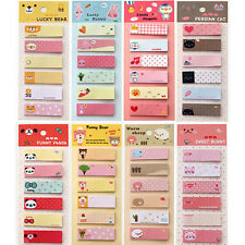 1 BOOK Sticky Notes Sticker Office Post-It 120 Pages Bookmark Memo Index Planner