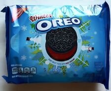 NEW Nabisco Winter Oreo Red Creme Cookies FREE WORLDWIDE SHIPPING