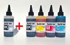 500ml Bulk Refill UV INK for Epson #252 Workforce WF-7110 7610 7620 3620 3640