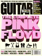 Guitar World Magazine December 2001 Pink Floyd, Stevie Ray Vaughan, STP, Incubus