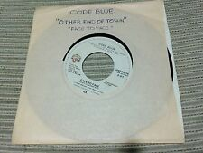 """CODE BLUE - FACE TO FACE 7"""" SINGLE USA 80 WARNER"""