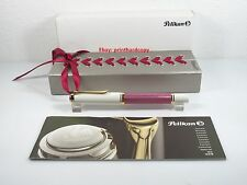 2015 Special Edition Pink Tortoise Pelikan M600 Fountain Pen 14k