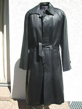 MANTEAU CUIR AGNEAU T.L SIZE LEDERJACKE LAMM LEATHER JACKET CAR COAT LEDERMANTEL