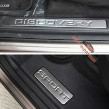 Door sill scuff plate Insert Trim For land rover Discovery Sport 2014 2015 2016