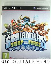 Skylanders SWAP FORCE PS3 Game Disk and Case