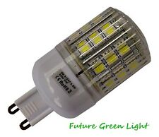 G9 24 SMD LED 240V 3.8W 350LM WARM WHITE BULB WITH COVER ~50W
