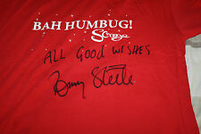 TOMMY STEELE SIGNED TEE SHIRT FROM THE MUSICAL SCROOGE