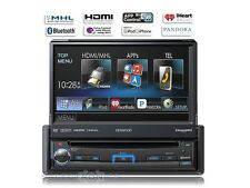"Kenwood KVT-7012BT 7"" Flip-Out DVD Stereo Receiver, Bluetooth, HDMI MHL USB RB"