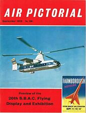 AIR PICTORIAL SEP 59: FARNBORO' DIRECTORY/ J2M3 RAIDEN/ PIPER TRI-PACER AIR TEST