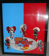 2008 Kamen Rider V3, Masked Rider Mini Big Head Figs case of 20 figures Unopened