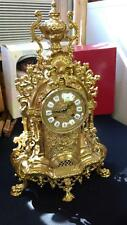 Vintage Imperial Franz Hermle movement, Germany Brass Mantel Clock