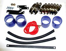 For Nissan GTIR N14 Pulsar SR20 SR20DET Intercooler Piping+Silicones+Clamps