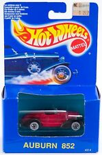 Hot Wheels Auburn 852 Red With Black Fenders New In Box 1990