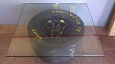 NASCAR Wheel and Tire Coffee Table Jimmy Spencer #23 Smoking Joe