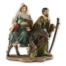 La Posada Figure-Joseph with Mary Riding on Donkey on their way to BETHLEHEM