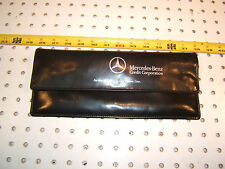 Mercedes W140,R129,W210 Mercedes Credit Corporation Black Leather OEM 1 Pouch