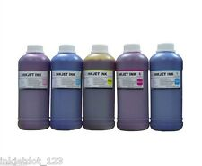 5x500ml color Refill ink for Epson printers Artisan 700 800 710 810 1400 1410