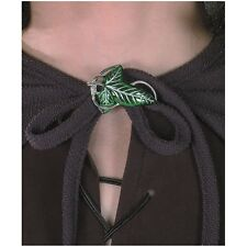 Elven Cloak Leaf Clasp Lord of the Rings Elf Halloween Costume Accessory