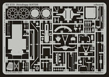 EDUARD 1/35 PHOTO-ETCHED DETAIL SET for TAMIYA ZUNDAPP KS750 MOTORCYCLE #35023