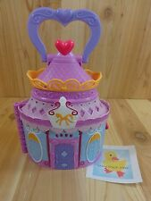 MY LITTLE PONY Portable Castle House Case Flip Card Rooms 2014 Hasbro