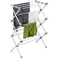 Clothes Metal Rack Drying Laundry Folding Hanger Dryer Indoor Foldable Portable