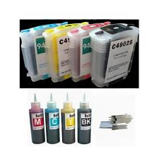 4 combo pack pre-filled refillable ink cartridge kit for hp 940 hp 8000 8500