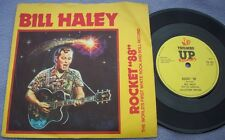 BILL HALEY Rocket 88 / Tearstains On My Heart UK THUMBS UP REISSUE PIC SLEEVE