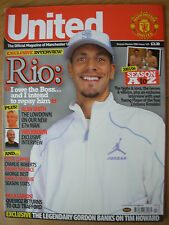 MANCHESTER UNITED OFFICIAL MAGAZINE ISSUE 143 SEASON REVIEW 2004