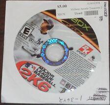 Microsoft Xbox. Major League Baseball 2K6 (NTSC)