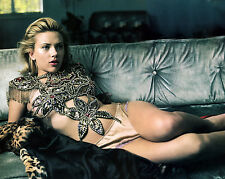 SCARLETT JOHANSSON 8X10 PHOTO PICTURE PIC HOT SEXY ON COUCH IN LITTLE PANTIES 10