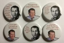 """Married With Children Al Bundy Quotes  Lot of 6 1 1/4"""" Magnets"""
