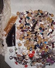 Huge Mixed Beads Lot Wood Variety Mix Jewelry Supplies Hematite Crystal 2 Pounds