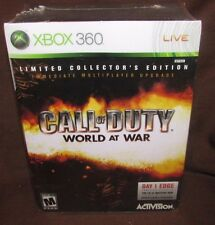 Call of Duty: World at War - Limited Collector's Edition - Xbox 360 BRAND NEW