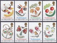 Guernsey 1995 Greetings - Welcoming Face of Guernsey Set UM SG663-70 Cat £4.25