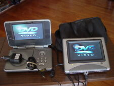 Venturer PVS 1977 Portable DVD Player with Dual Screen Great Working Condition