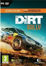 Dirt Rally (PC-DVD) BRAND NEW SEALED COLIN MCRAE RALLY LEGEND EDITION