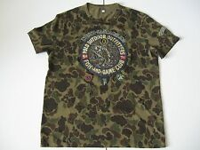 POLO RALPH LAUREN Men's Custom Fit Fishing Patchs Camo T-Shirt M