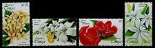 TONGA, SCOTT # 1023 - 1026, SET OF 4 - GARDEN FLOWERS, 1999, MINT NEVER HINGED