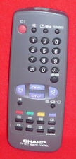 ORIGINAL GENUINE SHARP TV TEXT VCR VIDEO REMOTE CONTROL G1060SA
