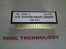 OTC SSI System Smart Insert No. 3306-11 Genisys Monitor 4000 Mentor Determinator