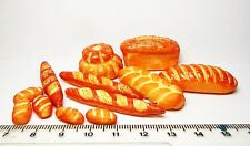 1:12th All Sorts Of Breads Doll house Miniatures Kitchen Accessories