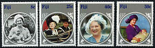 Fiji 1985 SG#701-4 The Queen Mother MNH Set #D41080