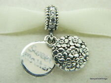 NEW! AUTHENTIC PANDORA CHARMS SWEET MOTHER DANGLE #791285CZ LIMITED EDITION
