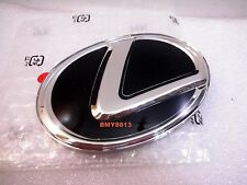 NEW 14 15 16 LEXUS IS200T IS250 IS350 REAR BLACK EMBLEM BADGE ES350 12CM