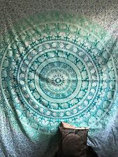 Large Queen Mandala Tapestry Hippie Indian Wall Hanging Bedspread Bedding Throw