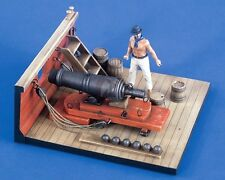 Verlinden 54mm 1/32 Royal Navy Naval Carronade w/Slider Carriage Late 1700 2134