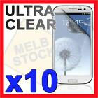 10x Clear LCD Screen Protector Film Guard for Samsung Galaxy S3 SIII S 3 i9300