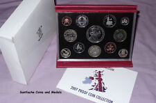 2007 ROYAL MINT DELUXE PROOF SET COINS - Full Packaging as Issued